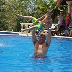 Family Fun at a great family pool!
