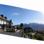 La vue sur la Vallée des Gaves