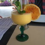 Mango Margs at Carlitos in Pescadero