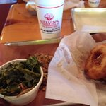 Those aren't donuts--Those are the best onion rings ever!