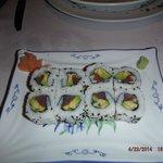 yummy sushi tuna rolls