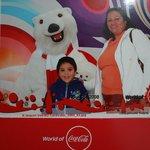 Con el Osos de Coca Cola