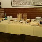 Desayuno buffet - variedad de cerreales