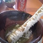 Flauta with salsa verde - the highlight of the day