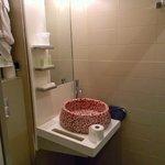 Very small toilet