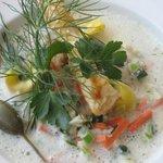 Lohmer Fischsuppe - unser Klassiker
