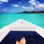 Boat ride around the island