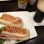 Lanche e Guinness