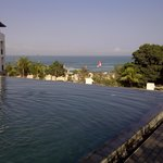 Kolam renang di atas Balkon