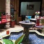 красивый марокканский интерьер