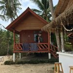 Our beach view bungalow