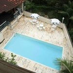 Great pool and BBQ area