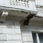 Balcony supports?