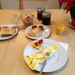 Breakfast/Omelete made by request
