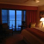 Room at dusk