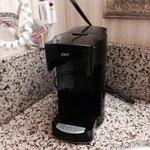 Coffee maker missing basket :(