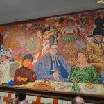 Murales en el restaurant