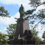 坂本龍馬銅像 (後姿)