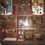 Detailgetreues Puppenhaus
