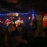 Jesse McReynolds (in vest) who taught Jerry Garcia plays at Station Inn
