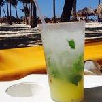 Sonne, beach und lecker mojito