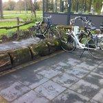 Origineel fietsenrek