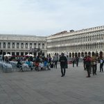 A view of the piazza