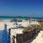 Entry to Playa Pilar