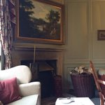 The lovely room where we chose to have our afternoon tea.