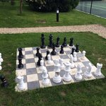 The outdoor chess set! Would be lovely in the Summer!