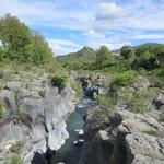 Top of Alcantara gorge
