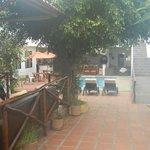 Entrance to Hotel Galapagos Inn