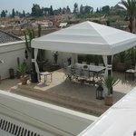 la terrazza in copertura