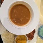 Soupe de poisson - menu fruits de mer