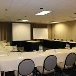Very clean, well organized meeting space.