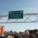 Welcome to The Bronx sign
