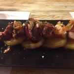 24th April 2014, octopus with paprika n garlic