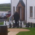 Ulster Cottages outdoor chess 1