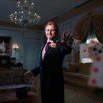 Magician Steve Cohen in the Waldorf Astoria