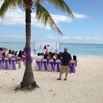 la spiaggia e un matrimonio