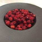 L'assiette de fruits rouges (très copieuse)
