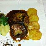 Pavé de boeuf et foie gras