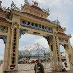 Entrance Gate to Cao Dai Temple