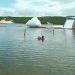 Lagoa do Pitangui e parque aquatico