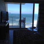 View from room door