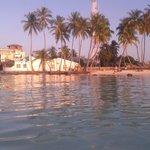 La spiaggia dei turisti...in Arena Beach