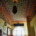 Beautiful hall ceiling