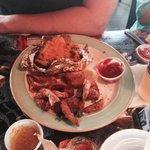 Shrimp and sweet potato