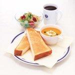 朝食例 *エクセルシオールカフェ