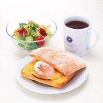 朝食例 エクセルシオールカフェ